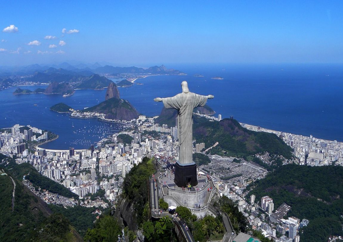 World Visits: Corcovado Mountain The Statue Of The Jesu